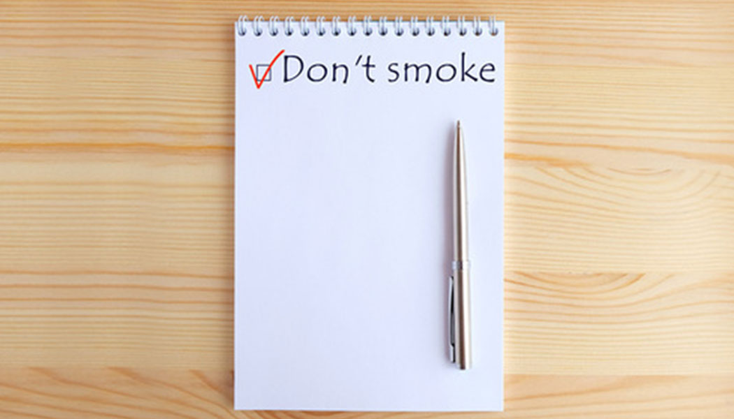 Quitting Smoking? Here's a checklist that will help!